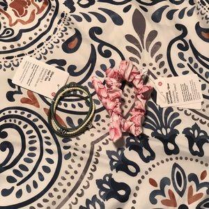 Bundle of Lululemon Hair Ties and Scrunchie